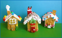 Gingerbread House and Ornament Making