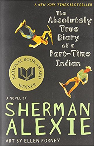 Page Turner Book Club Laurel Library New The Absolutely True Diary Of A Part Time Indian Quotes